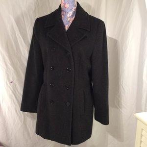 Bass wool blend pea coat